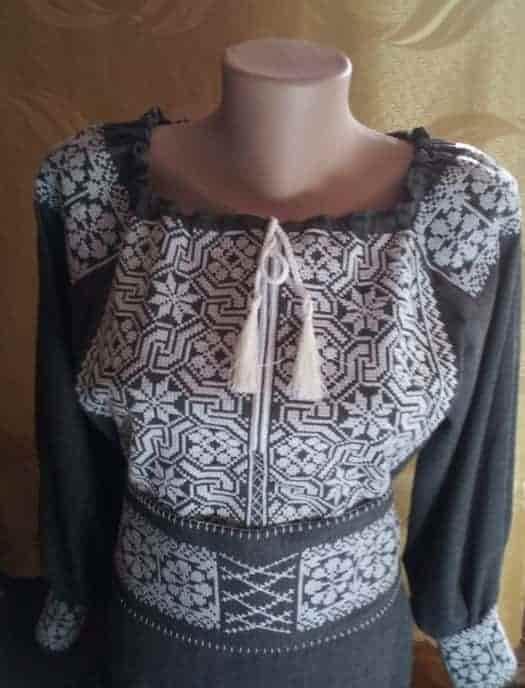 Платье ''Цепи'' (перёд)