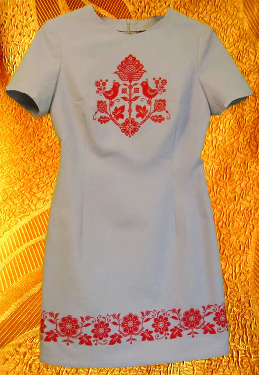 Платье ''Вазон''