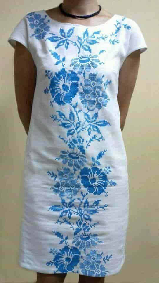 Платье ''Вьюнки''