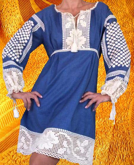 Платье ажурное-2