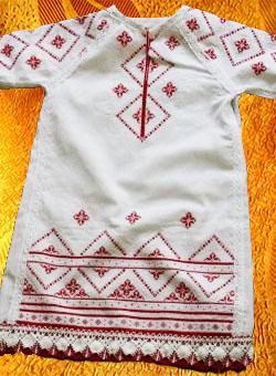 Платье для девочки ''Аленький цветочек''