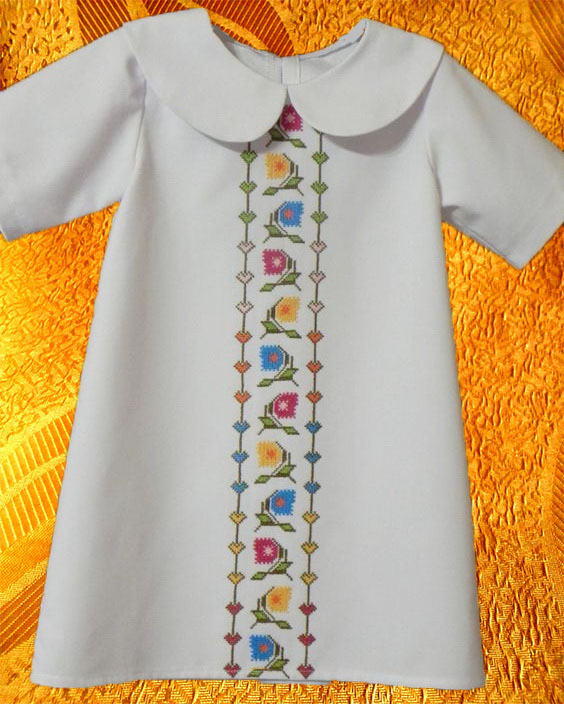 Платье для девочки ''Геоцинт''