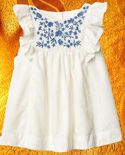 Платье для девочки ''Лазурь''