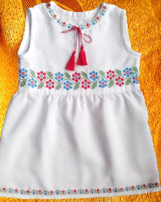 Платье для девочки ''Маргаритка''