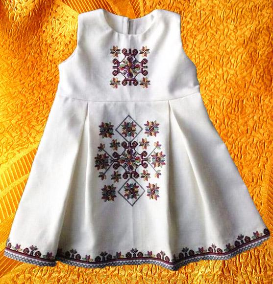 Платье для девочки ''Оберег''
