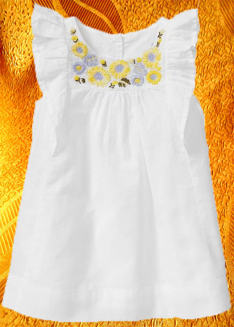 Платье для девочки ''Подсолнухи''