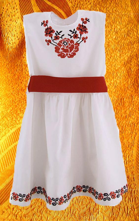 Платье для девочки ''Роза''