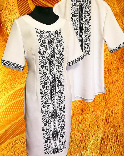 Платье и сорочка праздничные