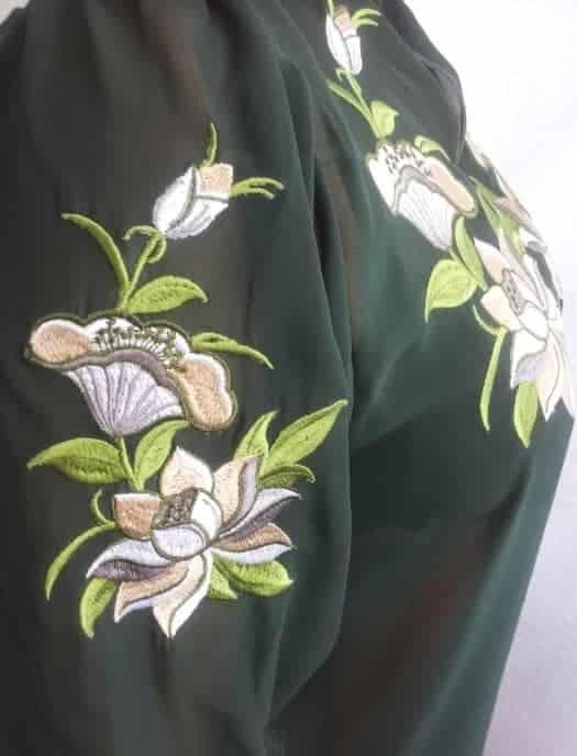 Рукав блузы ''Лотос''