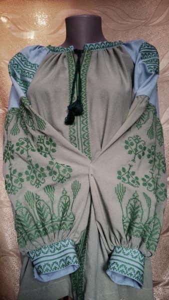 Сорочка ''Елена'' с длинным рукавом