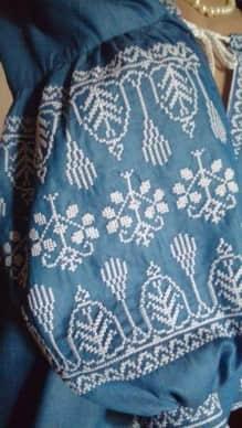 Сорочка джинсовая ''Марина'' (рукав)