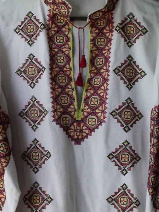 Сорочка традиционная Буковинская (пазуха)
