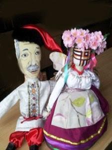 Сувенир авторский. Куклы