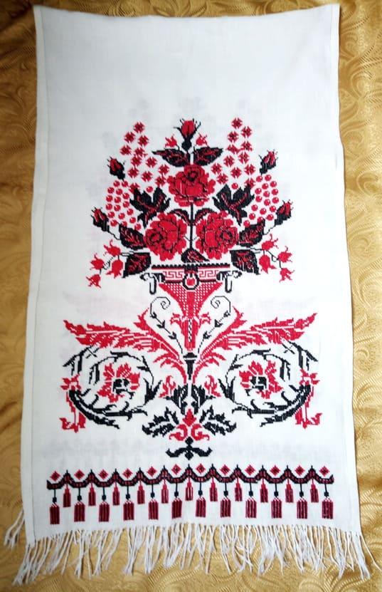 Рушник свадебный под ноги для молодых