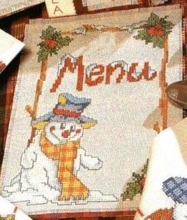Салфетка для бланка меню