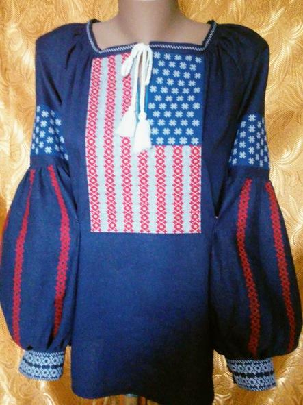 Сорочка женская ''Независимость''.