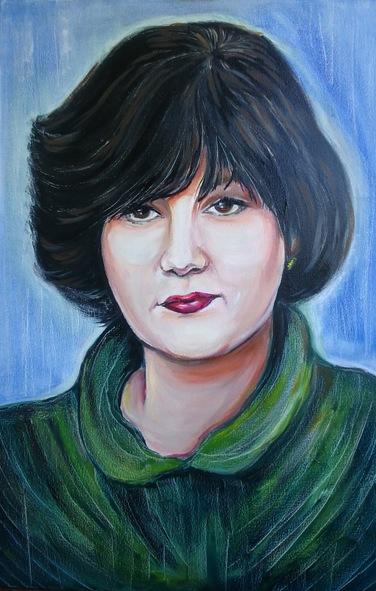 Портрет учительницы