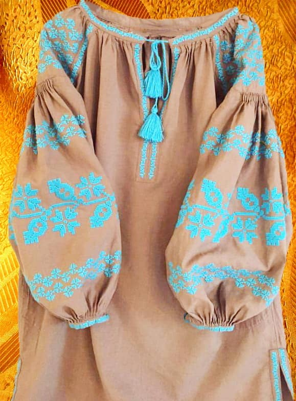 Платье орнаментальное